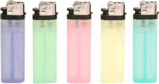 pastel lighters