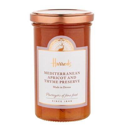 Harrods Mediterranean Apricot And Thyme Preserve (320g)   Harrods.com