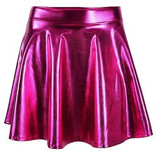 Hot-Pink Holo Skirt
