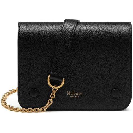 Black shoulder bag Mulberry