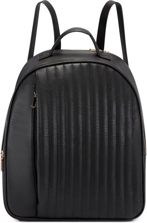 Alain Faux Leather Backpack