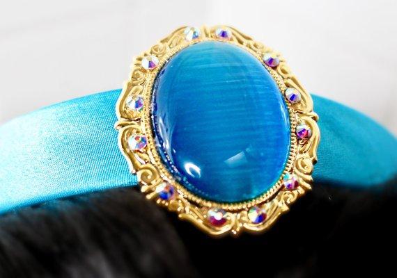 Princess Jasmine Inspired Circlet Headband | Etsy