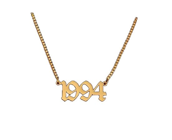 1994 gold necklace