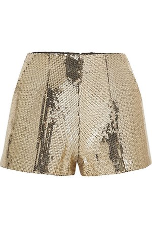 Alex Perry | Henderson sequined crepe shorts | NET-A-PORTER.COM