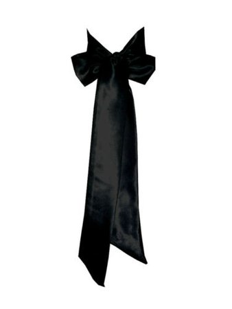BLACK Satin Wedding Fancy Dress Party Ribbon Sash Belt Tie Band Bridesmaid Bow | eBay