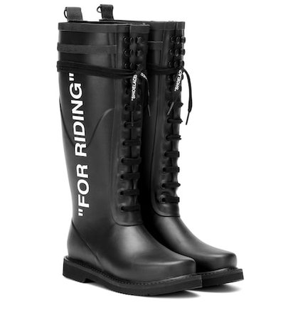 """""""For Riding"""" Wellington boots"""