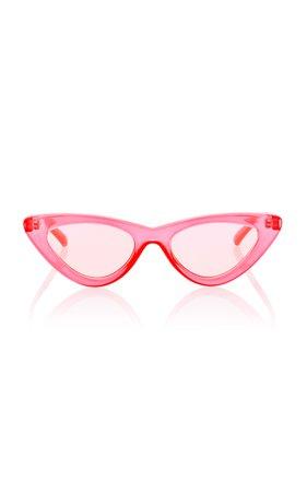 Adam Selman X Le Specs The Last Lolita Cat-Eye Sunglasses