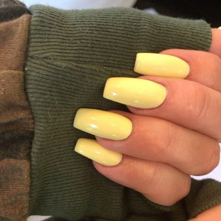 164 Celebrity Yellow Nail Polish Photos | Steal Her Style