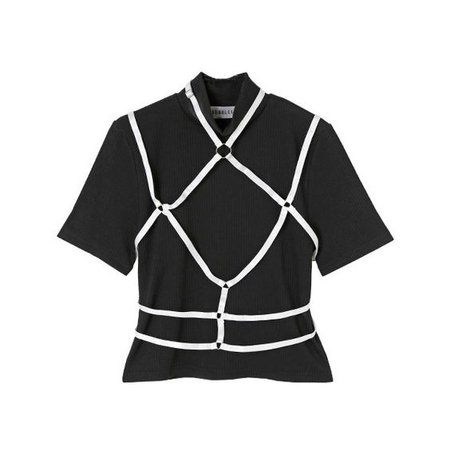 Black Top From BUBBLES ONLINE STORE