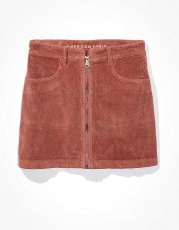 AE Super High-Waisted Corduroy A-Line Skirt