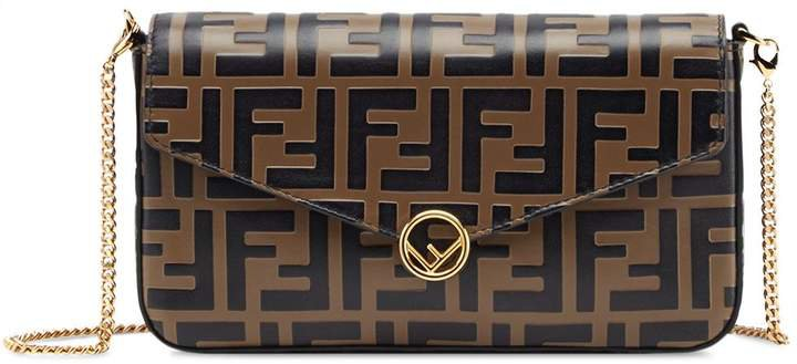 small FF motif cross body bag