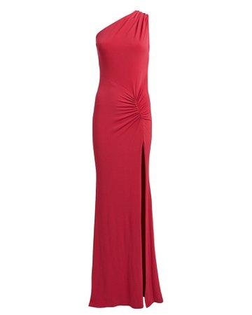 Katie May | Attention Seeker One-Shoulder Dress | INTERMIX®