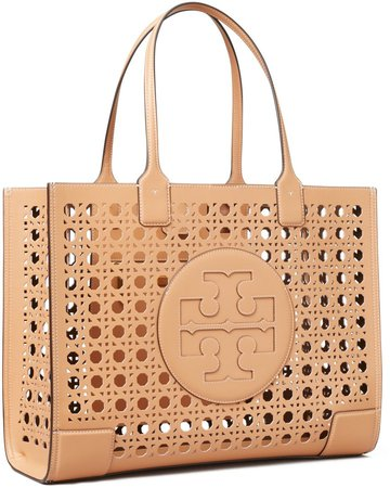 Ella Basket-Weave Tote Bag