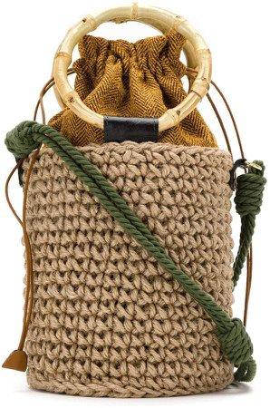 Silk Bucket Bag