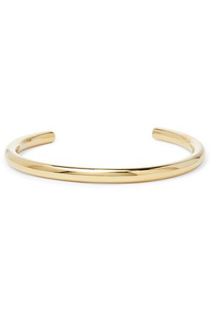 Jennifer Fisher | Jamma gold-plated choker | NET-A-PORTER.COM