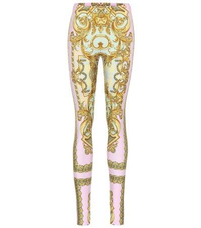 Exclusive To Mytheresa – Printed Leggings | Versace - Mytheresa