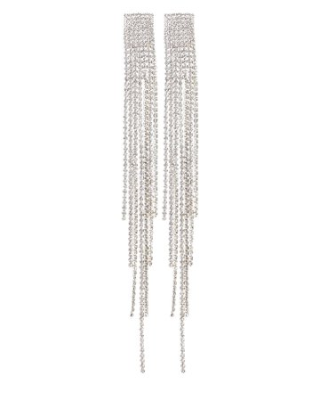 Jessica Crystal Fringe Earrings