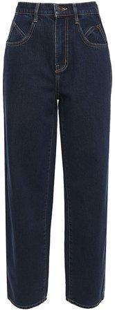 Full Barrel High-rise Wide-leg Jeans