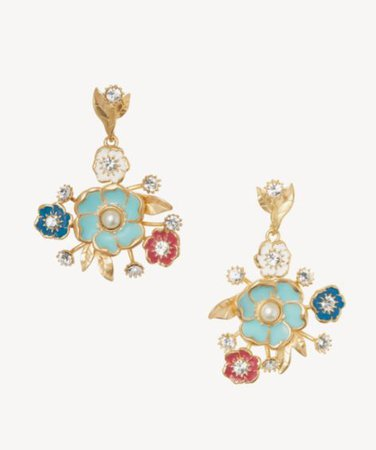 Sole Society Drama Bouquet Earrings | Sole Society Shoes, Bags and Accessories gold