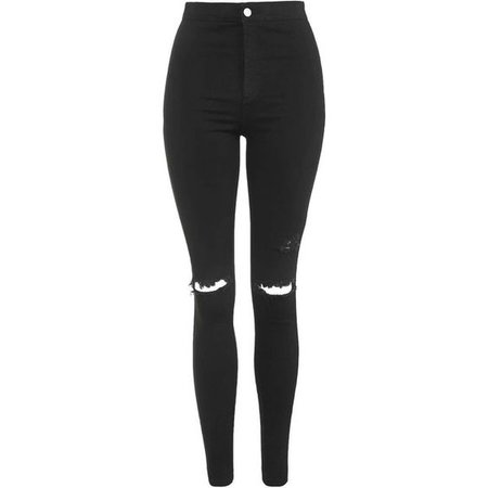 TopShop Moto Black Ripped Joni Jeans | outfits