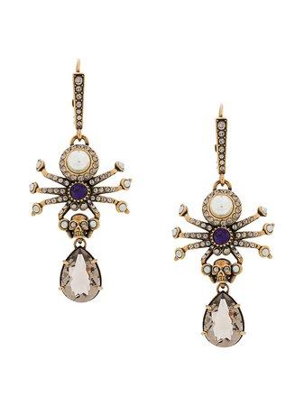 Alexander McQueen Spider Earrings - Farfetch