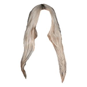 blonde hair edit png