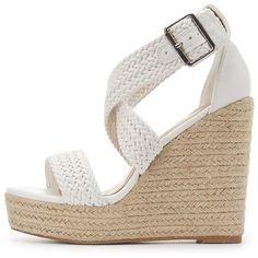 Charlotte Russe Braided Espadrille Wedge Sandals