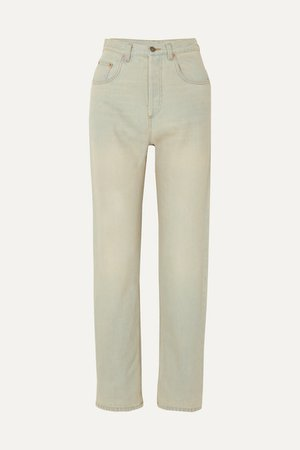 Gucci | Printed high-rise straight-leg jeans | NET-A-PORTER.COM