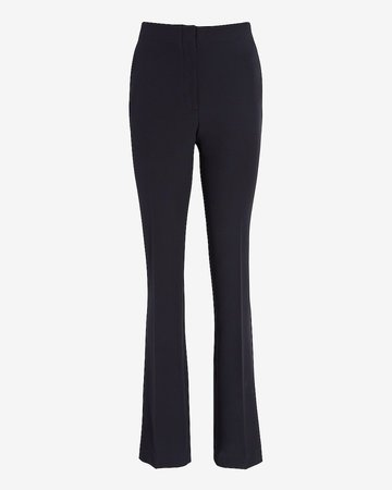 High Waisted Supersoft Twill Pull-On Bootcut Pant