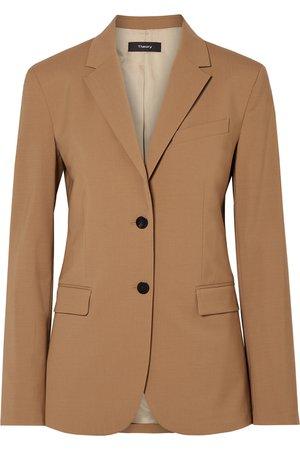 Theory | Classic wool-blend blazer | NET-A-PORTER.COM