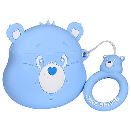Amazon.com: Gift-Hero Compatible with Airpods 1&2 Soft Silicone Cute Case, Cartoon 3D Fun Animal Funny Cool Kawaii Designer Kits Character Skin Fashion Chic Cover for Girls Boys Kids Teens Air pods (Rain Bear): Home Audio & Theater