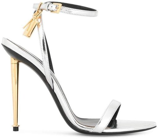 stiletto sandals