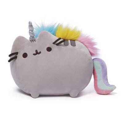 Gund Pusheenicorn Plush Toy grey
