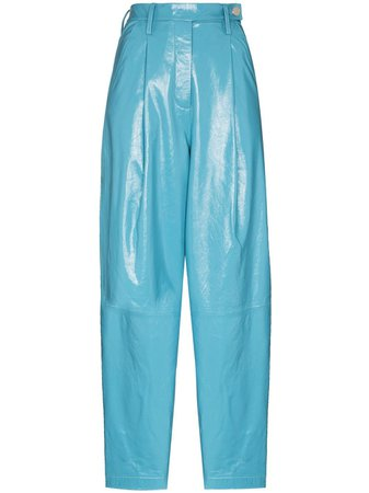 REMAIN Cleo high-waisted trousers - FARFETCH