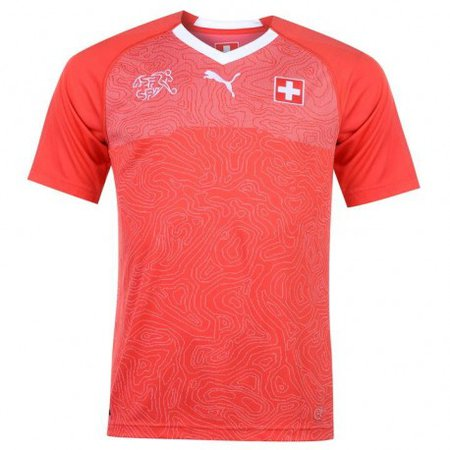Swiss Soccer Jersey 2018
