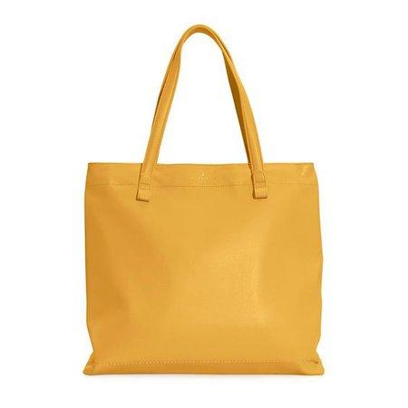 shopper bag yellow