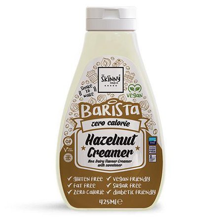 The Skinny Food Co Barista Hazelnut Creamer – Κρέμα Για Καφέ Με Γεύση Φουντούκι Με Μηδενικές Θερμίδες 425ml | NGT