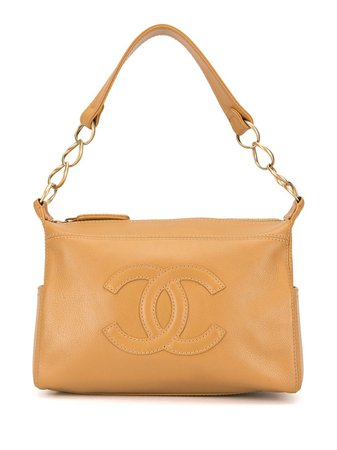 Chanel Pre-Owned Sac Porté Épaule à Logo CC - Farfetch