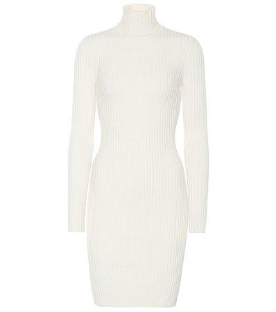 Wool-Blend Roll-Neck Dress | Wolford - Mytheresa