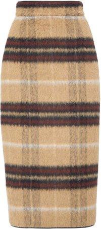N21 Plaid Knit Skirt