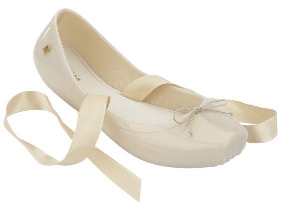 Vivienne Westwood + Melissa rubber ballet flat