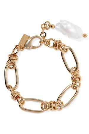 Mounser | Hops gold-plated pearl bracelet | NET-A-PORTER.COM
