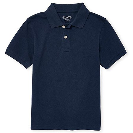Amazon.com: The Children's Place Boys' Short Sleeve Uniform Polo: Clothing