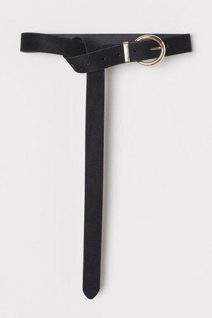 Long waist belt - Black - Ladies   H&M