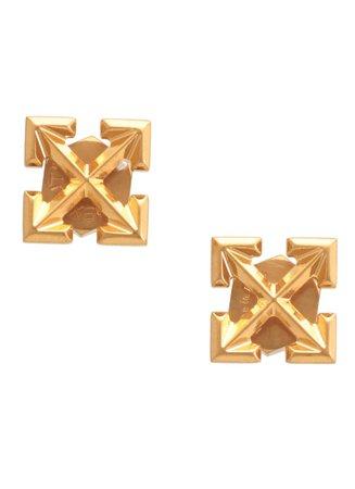 Off-White Mini Arrows Earrings