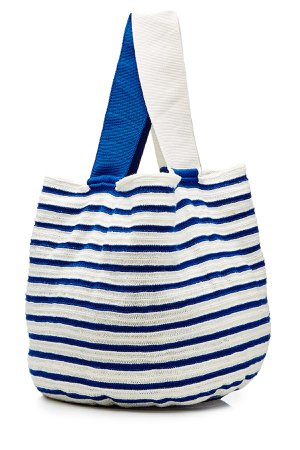 Striped Cotton Tote Gr. One Size
