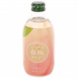 Hojun White Peach Soda, 10.14 oz
