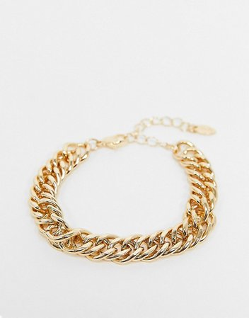 Liars & Lovers bracelet in chunky gold chain | ASOS