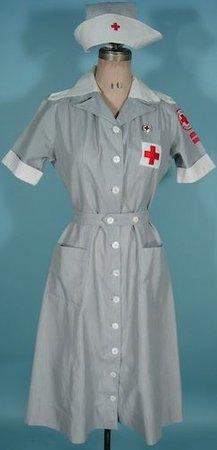 1940s Women's Nurse Outfit/Uniform
