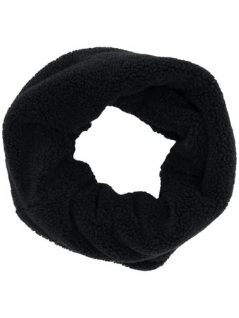 Raeburn Textured Fleece Snood RAE6040UM19W Black   Farfetch